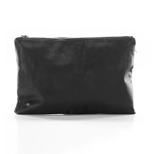Forever 21 Black/Gold Clutch Bag